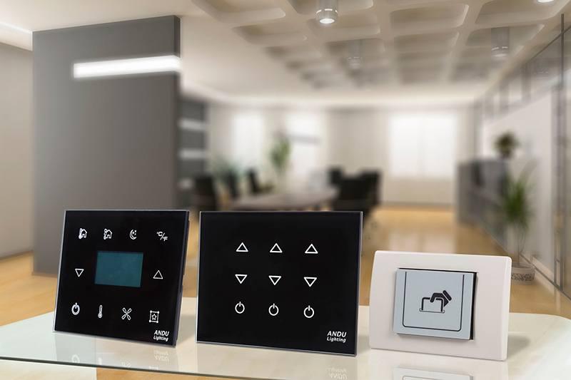 Smart Hotel Control - Glass Room Units