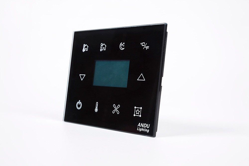 Smart Hotel Control - Glass Room Switch