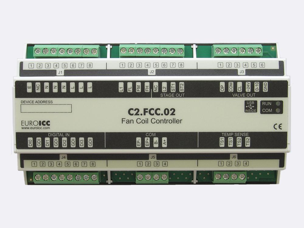Fan coil controller C2.FCC.02