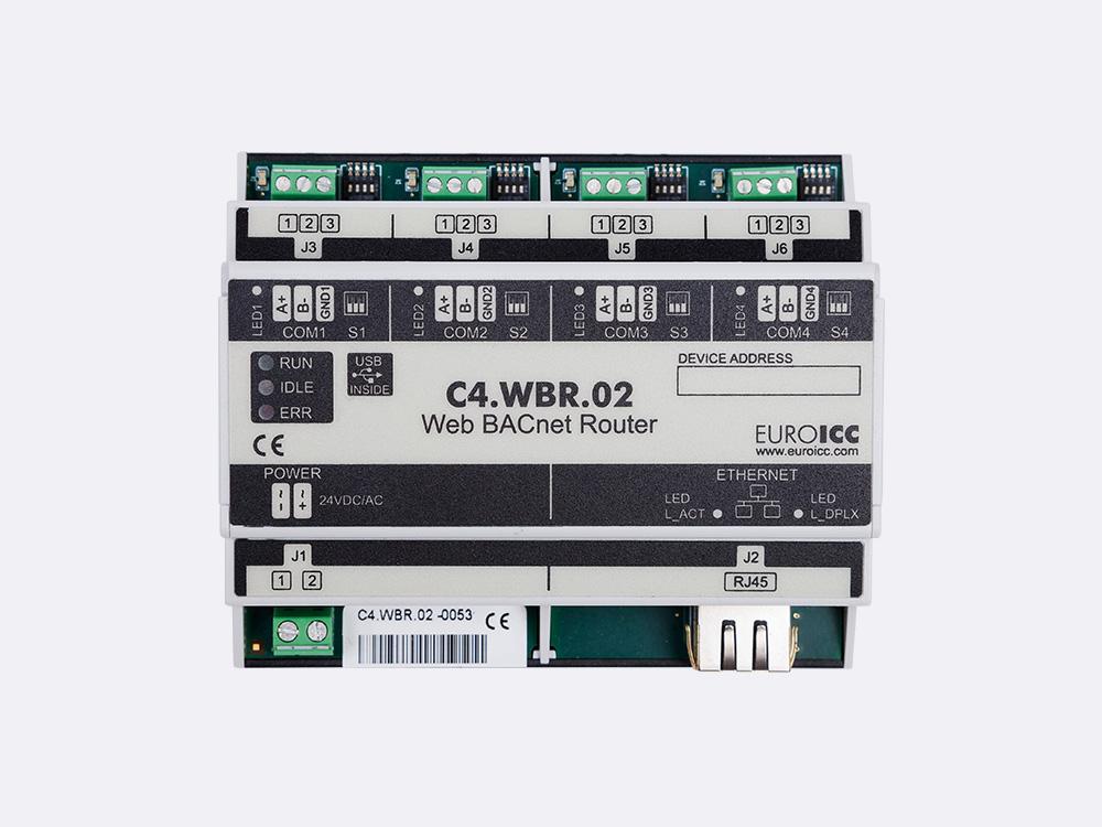 Web BACnet Router – C4.WBR.02