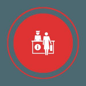 Smart Hotel Control - reception
