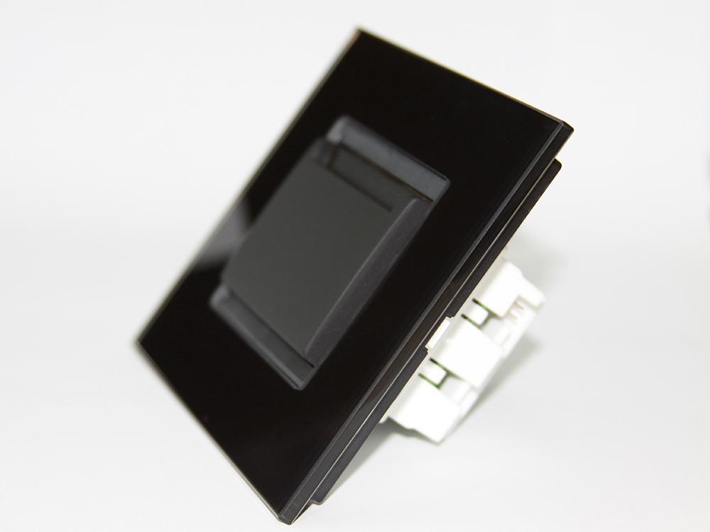 Programmable card holder device designed for hotels