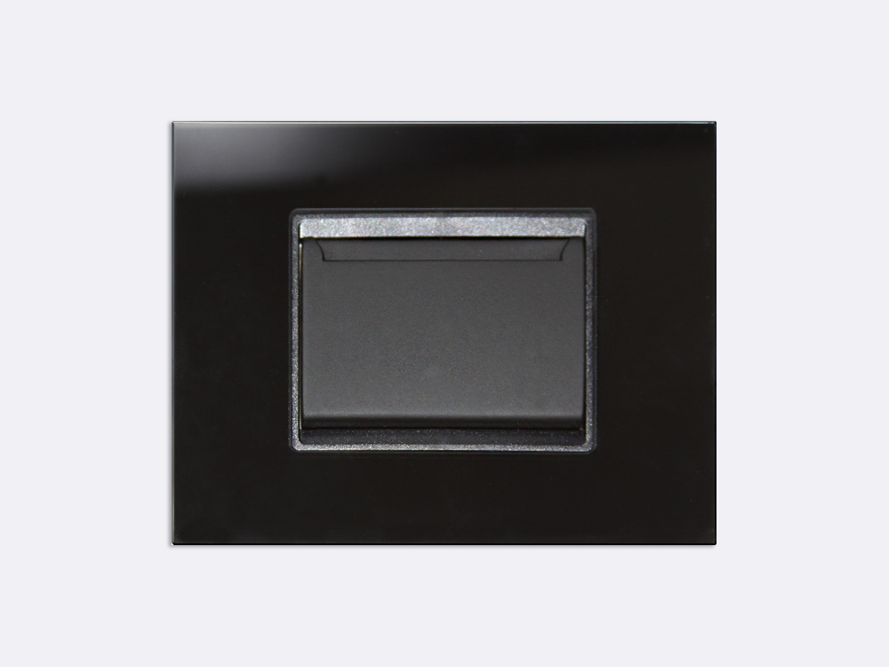 Smart Programmable Intelligent wall touch panel for Guest Room Management System, Smart Hotel Control, Home Automation and Building Automation - RD.CHA.01 - Customizable Intelligent card holder device designed for wide range of Building Automation and Guest Room Management System tasks