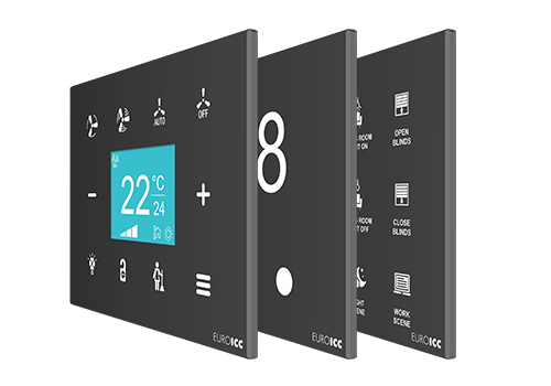 Programmable Room Touch Panels